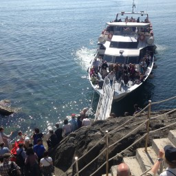 Cinque Terre ferry schedule: October 2-27, 2017
