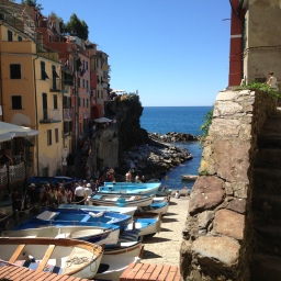 Crowds in the Cinque Terre