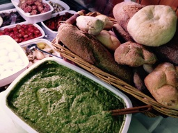 Local specialties in the Cinque Terre