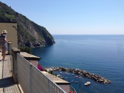 Cinque Terre National Park guided hiking & walking tours: September 1-30, 2015