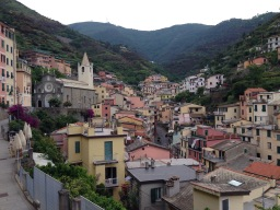 Cinque Terre National Park guided hiking & walking tours: June 16-30, 2015