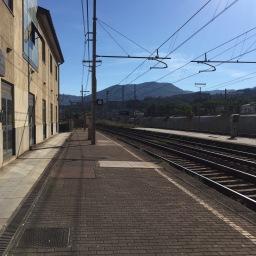 Migliarina station: Plan B parking in La Spezia