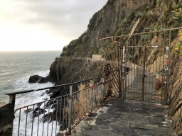Reopening of the Via dell'Amore?  Don't hold your breath