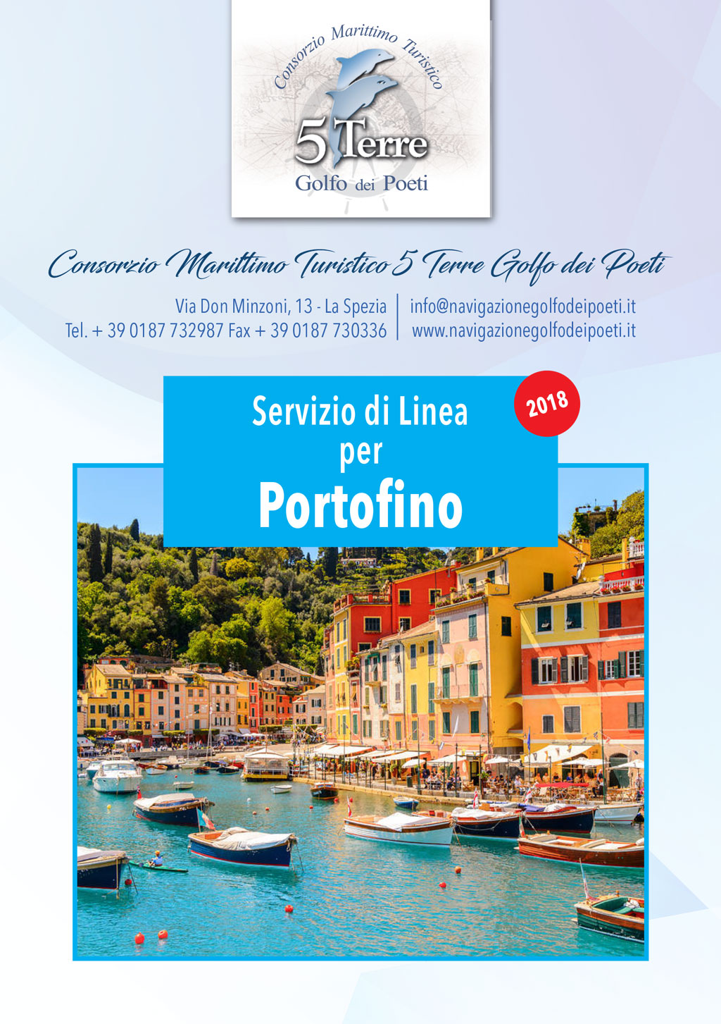 Portofino battello 2018